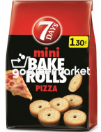 7DAYS BAKE ROLLS PIZZA 160GR +50%ΠΡΟΙΟΝ