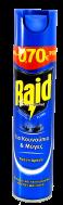 RAID AEROSOL ΕΝΤΟΜΟΚΤΟΝΟ 300ML €-0.70