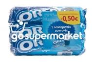 OREO ΜΠΙΣΚΟΤΑ ΒΑΝΙΛΙΑ 3Χ154ΓΡ €-0,50