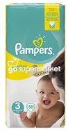 PAMPERS NEW BABY ΠΑΝΕΣ Ν3 4-7KGR 50ΤΕΜ