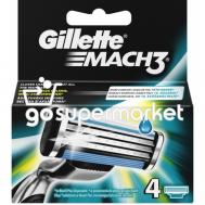 GILLETTE MACH3 ΑΝΤΑΛΛΑΚΤΙΚΑ 4ΤΕΜΑΧΙΑ