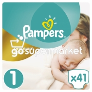 PAMPERS PREMIUM CARE Ν1 2-5KGR 41ΤΕΜ ΠΑΝΕΣ ΠΑΙΔΙΚΕΣ