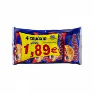 CHAMPION ΚΡΟΥΑΣΑΝ ΜΕ ΚΑΚΑΟ 4Χ70ΓΡ (€1,89)