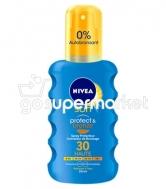 NIVEA SUN SPRAY PROTECT&BRONZE SPF30 200ML (ΑΝΤΙΗΛΙΑΚΟ)