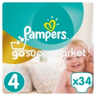 PAMPERS PREMIUM CARE ΠΑΙΔΙΚΕΣ ΠΑΝΕΣ Ν4 8-14KGR 34ΤΕΜ