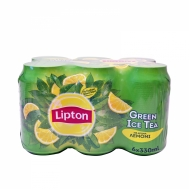 LIPTON ICE TEA GREEN ΚΟΥΤΙ 6Χ330ML