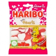 HARIBO ΖΑΧΑΡΩΤΑ 100gr. LOVE HEARTS