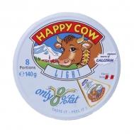 HAPPY COW LIGHT ΤΥΡΑΚΙΑ ΤΡΙΓΩΝΑ 140ΓΡ/8ΤΕΜ