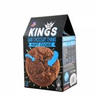 KINGS SOFT COOKIE DARK CHOCO 180GR