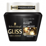 GLISS ULTIMATE REPAIR ΜΑΣΚΑ ΜΑΛΛΙΩΝ 300ML
