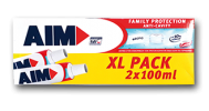 AIM ΟΔΟΝΤΟΚΡΕΜΑ FAMILY PROTECTION 2Χ75ML
