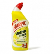 HARPIC ACTIVE WC GEL LEMON 750ML ΠΑΠΙ