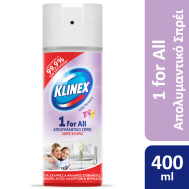 KLINEX SPRAY ΑΠΟΛΥΜΑΝΤΙΚΟ ΧΩΡΙΣ ΧΛΩΡΙΟ 400ML FLOWER