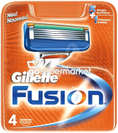 GILLETTE FUSION ΑΝΤΑΛΛΑΚΤΙΚΑ 4ΤΕΜ