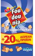 FOUDOUNIA ΣΝΑΚ ΚΑΛΑΜΠΟΚΙΟΥ 108ΓΡ 20%ΔΩΡΟ