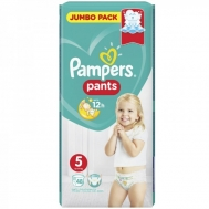 PAMPERS PANTS ΠΑΝΕΣ Ν5 12-17KGR 48ΤΕΜ