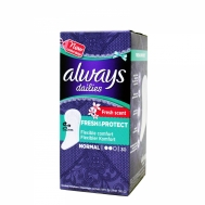 ALWAYS DAILIES FRESH SCENT NORMAL 30ΤΕΜ
