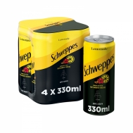SCHWEPPES LEMON BERGA&HIBIS 4X330ML