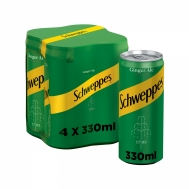 SCHWEPPES GINGER ALE 4X330ML